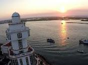 Isla Cristina vista pájaro sentimental