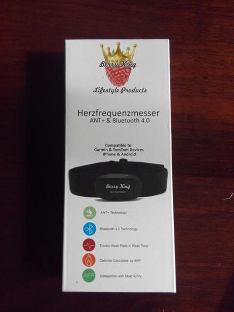 Oferta correa de pulsómetro Berry King ANT + Bluetooth 4.0