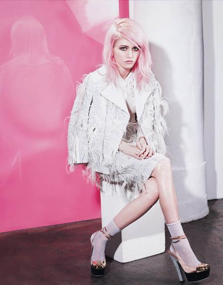 El triunfo de las modelos bajitas. Charlotte Free