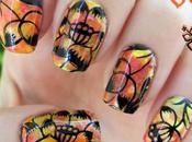 "Manicura Orient Blossoms Yours Cosmetics nuevo ""Nail Art"""
