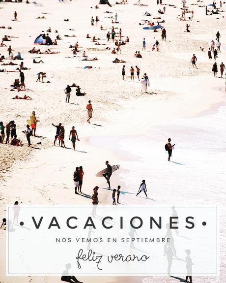 Vacaciones - Nos vemos en septiembre