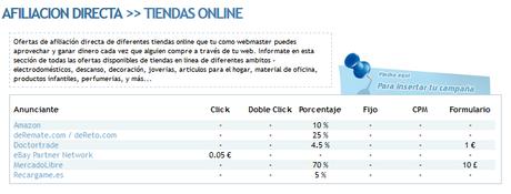 Marketing de afiliados para tiendas online