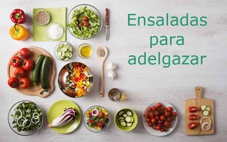 ensaladas para perder peso