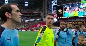 Imperdonable confunden himno Uruguayo por el himno Chileno en la Copa América Centenario