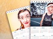 Calendario 2018 pared para imprimir editable gratis