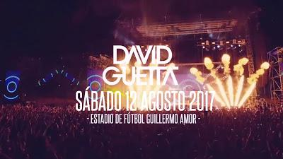 David Guetta  el 12 de agosto en Benidorm