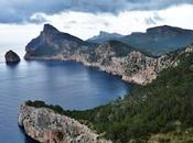 Formentor: carretera hermosas vistas hacia este excelente paraje