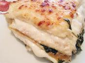 Pastel crepés espinacas queso