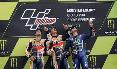 Marc Márquez,gana el GP de Brno 2017 de MotoGP.