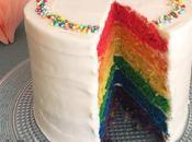 Tarta Arco Iris Rainbow cake