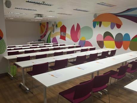 Sala de conferencias en Madrid