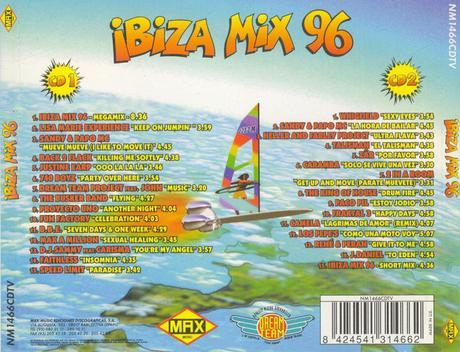 Los más populares discos megamix de los 90