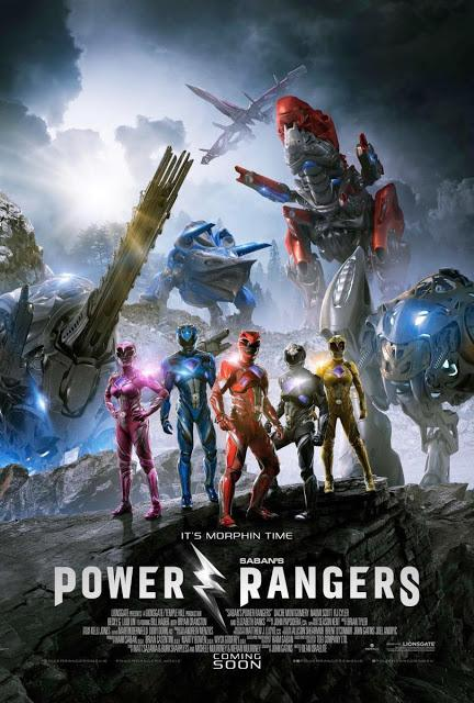 Power Rangers 2017 por DaviOne