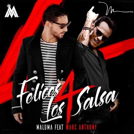 Maluma y Marc Anthony