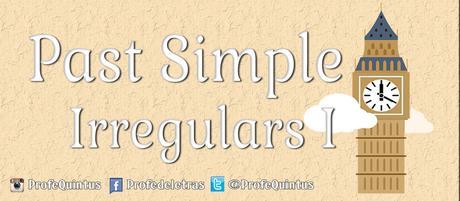 Ejercicio en línea: Past Simple (III): Irregular Positive