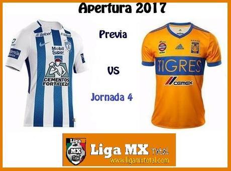 Previa Pachuca vs Tigres en J4 del Apertura 2017