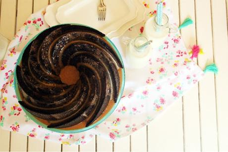 Malted Guinness Chocolate Bundt Cake
