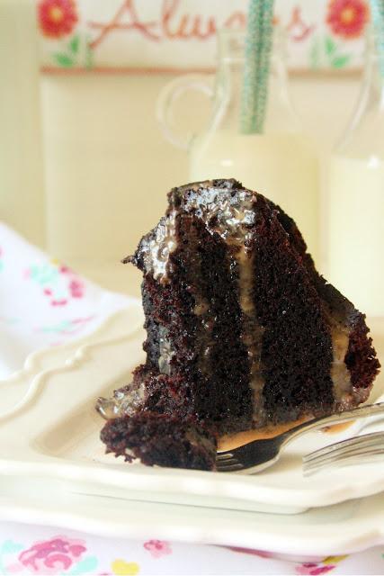 Malted Guinness Chocolate Bundt Cake