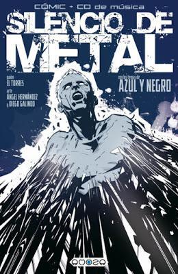AZUL Y NEGRO - SILENCIO DE METAL