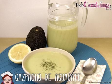 Gazpacho de aguacate