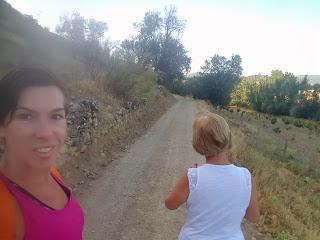 caminata en compañía