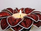 Velas flores cápsulas nespresso