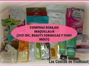 Compras Rebajas Maquillalia (3x2 Tony Moly, Beauty Formulas)