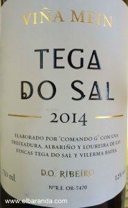 Tega do Sal 2014 blanco