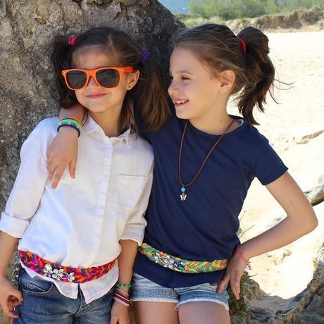 Cinturones étnicos para niñas