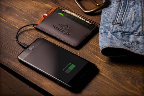 La cartera más segura del mundo viene con una alarma, GPS Tracker y una cámara de seguridad
