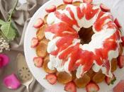 Strawberry Cream Bundt Cake #BundtBakers