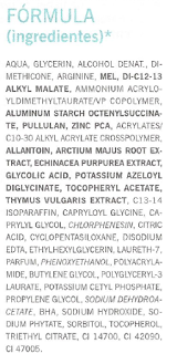 Ingredientes Mascarilla Purificante Farmacia Viéitez