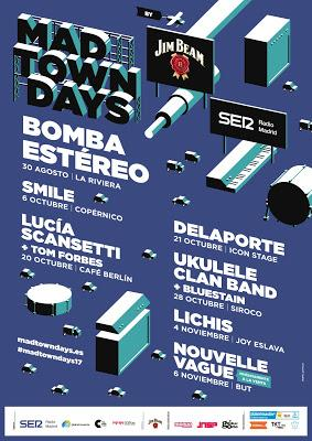 LOS FRANCESES NOUVELLE VAGUE CONFIRMADOS EN MADTOWN DAYS BY JIM BEAM