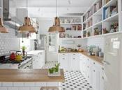 Armarios abiertos cocina