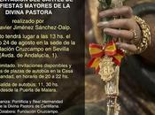 Presentación cartel Fiestas Mayores honor Divina Pastora
