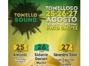 Tomellosound 2017, cartel completo