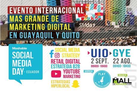 Cuenta regresiva para el Social Media Day Ecuador