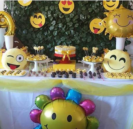 20 ideas para tu fiesta de emoji