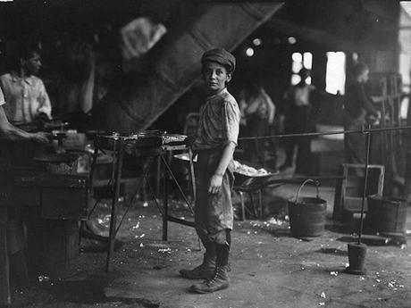 Los empleos infantiles eran bastante duros en la antigüedad
