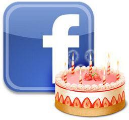 El cumpleaños en el Facebook