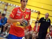 jugador Balonmano Montequinto Antonio Serradilla Subcampeón Mundo Juvenil Georgia