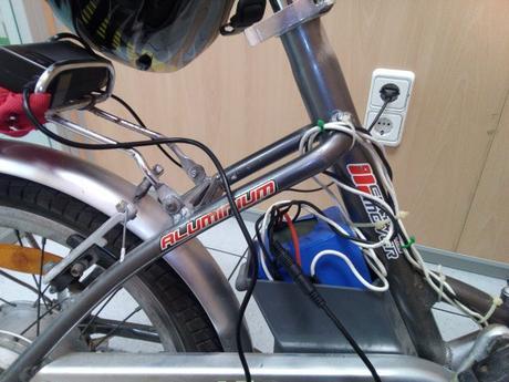 Actualización de la  batería de una bicicleta eléctrica
