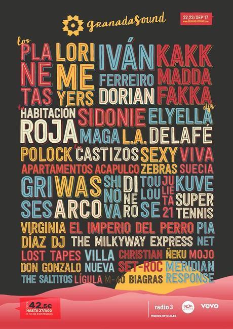 Granada Sound_ cartel completo