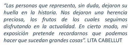 LITA CABELLUT, NARRADORA DE HISTORIAS I