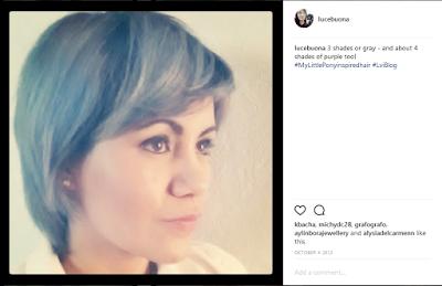 Gray hair don't care - LuceBuona