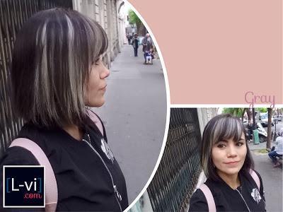 [Hair update]: Keeping up the grayness / Mantiendo el cabello decolorado