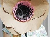 ideas sencillas flores papel kraft