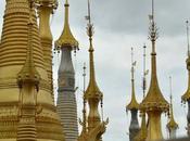 Myanmar, Viajando entre Templos Pagodas Doradas
