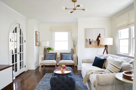 5 pasos para decorar un sal n alargado con un espacio de - Decorar salon alargado ...