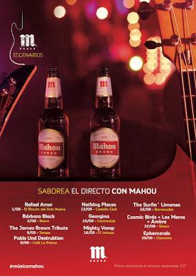 ESCENARIOS MAHOU Y FESTIVAL GIGANTE, LOS MEJORES PLANES MUSICALES DE SEPTIEMBRE